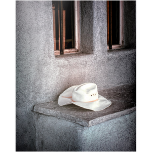 Metal Print - The Worn Hat, New Mexico, Pat Cahill