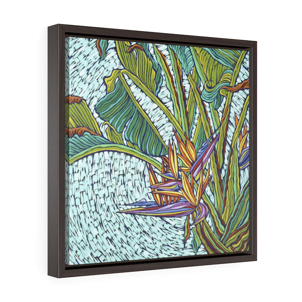 Framed Gallery Wrap Canvas - Free Flight, Monique Straub