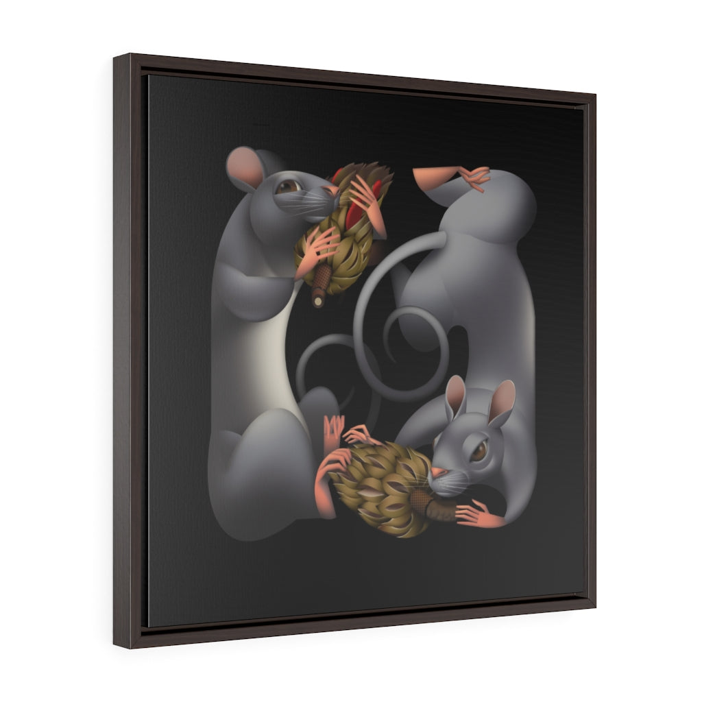 Framed Gallery Wrap - Frolic, Amy Ning