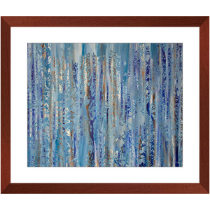 Framed Print - Forest Abstract 1, Jonathan Molvik