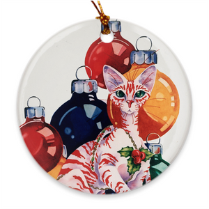 Official 2020 Art-A-Fair Porcelain Ornament - Free Shipping