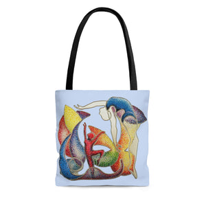 Tote Bag - The Performance (Pale Blue), Root Woods