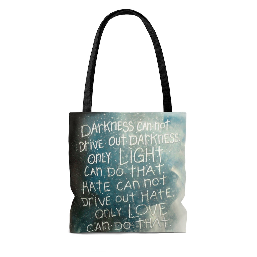 Tote Bag - A Hero's Words, Laura Seeley