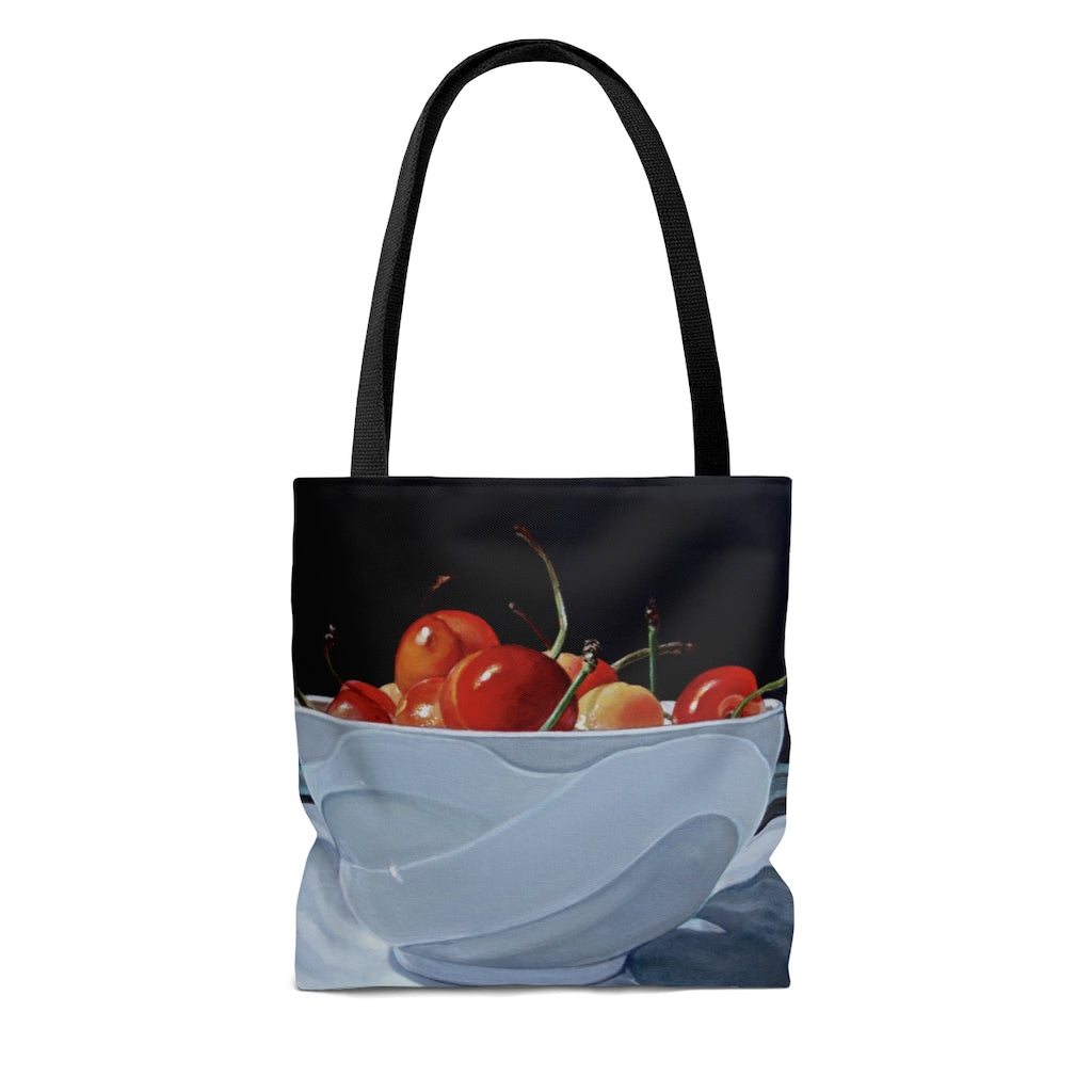 Tote Bag - Bowl of Cherries, Meryl Epstein