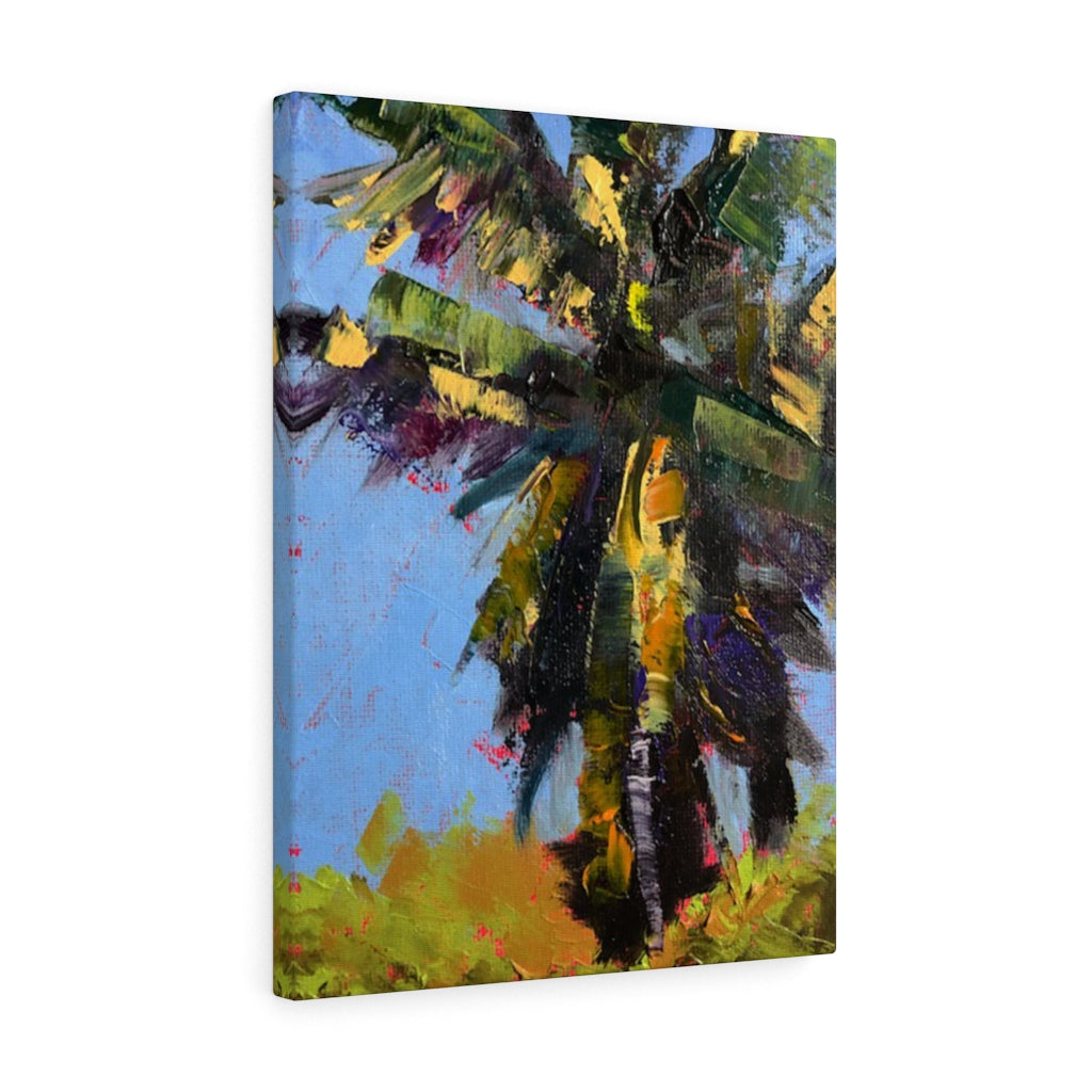 Gallery Wrap - Frenzied Palm, Laurie Miller