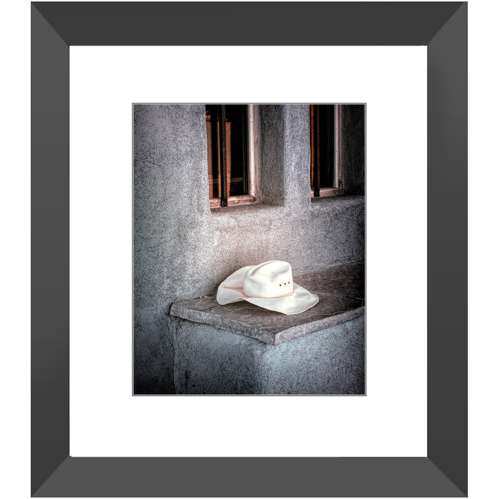 Framed Print - The Worn Hat, New Mexico, Pat Cahill