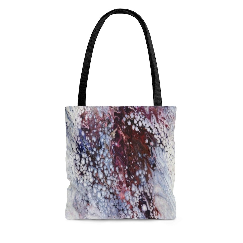 Tote Bag - Purple Rain, Emilee Reed