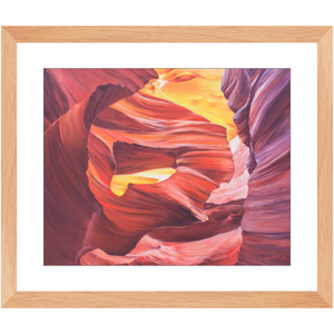 Framed Print - Lady in the Wind, Phoebe Siemion