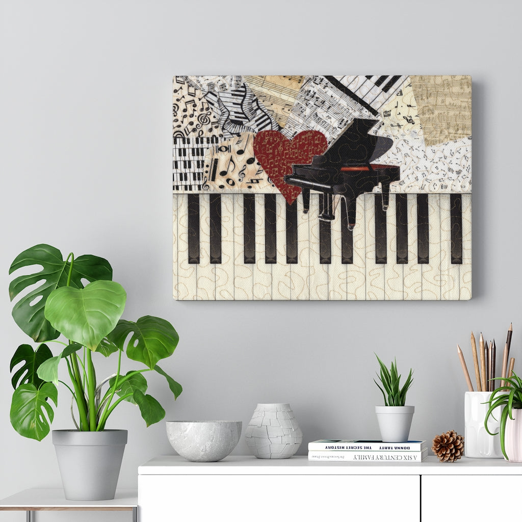 Gallery Wrap - I Love Piano, Loretta Alvarado
