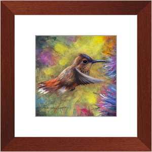 Framed Print - In-Flight Snacks, Terry Houseworth