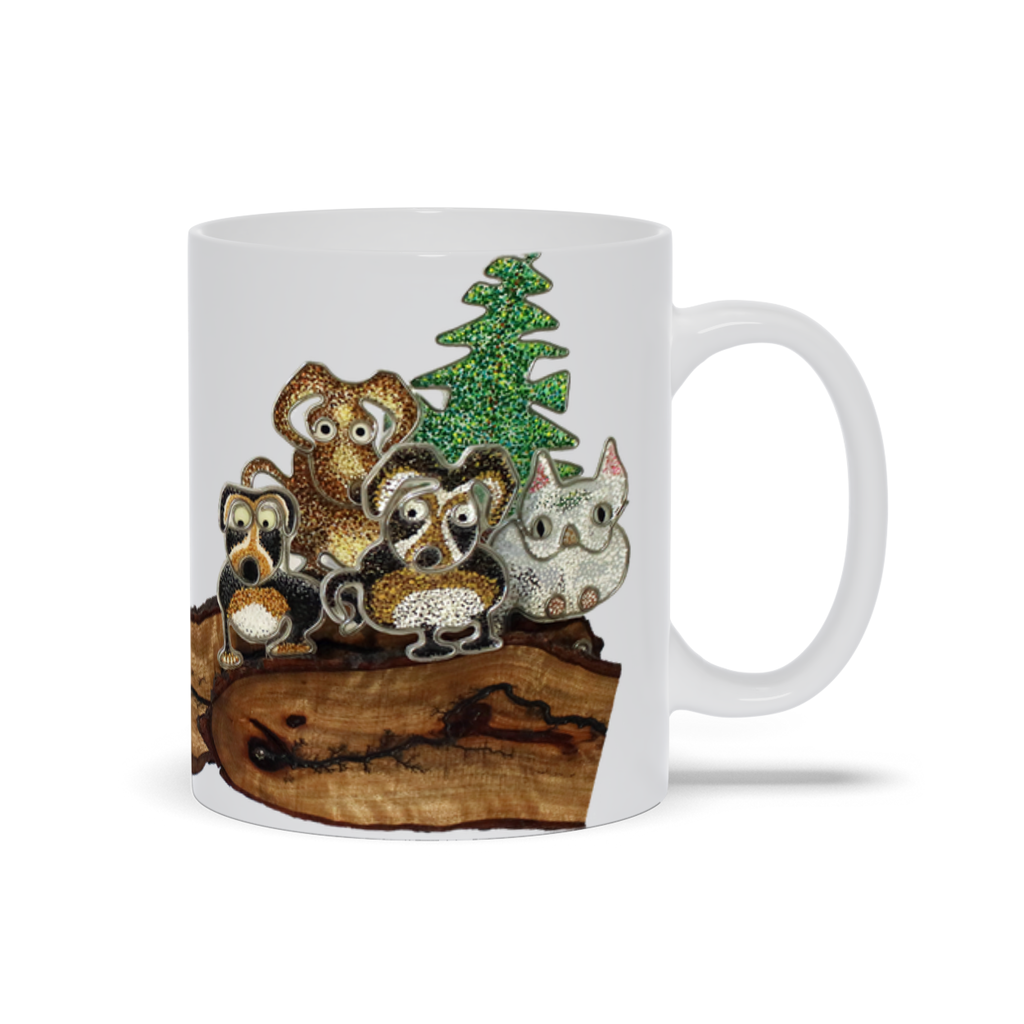 Mug - Social Distancing, Root Woods