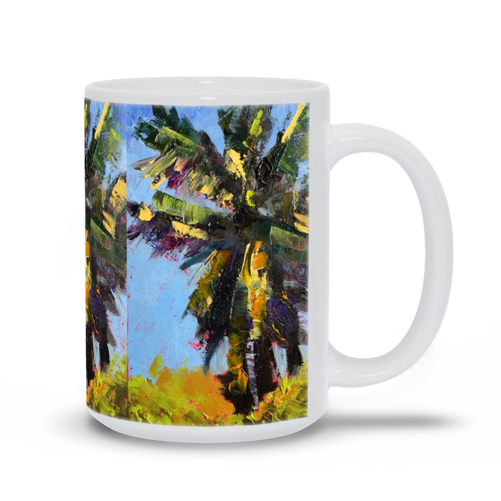 Mug - Frenzied Palm, Laurie Miller