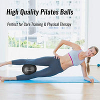 Trideer Pilates Ball (a.k.a. Barre Ball, Mini Exercise Ball, 9 Inch Small Bender Ball)