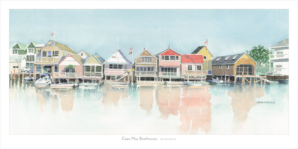 Cape May Boathouses