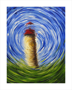 Swirly Lighthouse