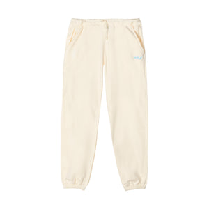 GOLF 3D 2 TONE LOGO SWEATPANTS by GOLF WANG | Cream