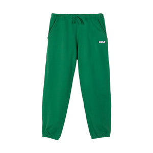 GOLF 3D 2 TONE LOGO SWEATPANTS by GOLF WANG | Forest Green