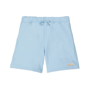 GOLF 3D 2 TONE LOGO SWEAT SHORTS by GOLF WANG | Powder Blue