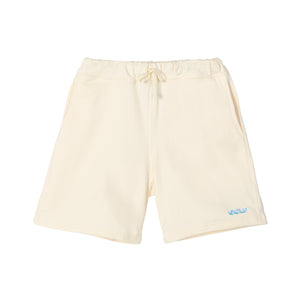 GOLF 3D 2 TONE LOGO SWEAT SHORTS by GOLF WANG | Cream