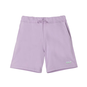 GOLF 3D 2 TONE LOGO SWEAT SHORTS by GOLF WANG | Lavender