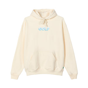 GOLF 3D 2 TONE LOGO HOODIE by GOLF WANG | Cream