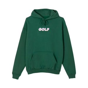 GOLF 3D 2 TONE LOGO HOODIE by GOLF WANG | Forest Green