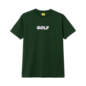 GOLF LOGO TEE by GOLF WANG | Forest Green