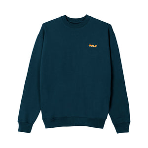 GOLF MINI 3D 2 TONE LOGO CREWNECK by GOLF WANG | Navy