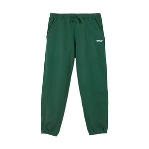 GOLF 3D 2 TONE LOGO TONE SWEATPANTS by GOLF WANG | Forest Green