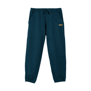 GOLF 3D 2 TONE LOGO TONE SWEATPANTS by GOLF WANG | Navy