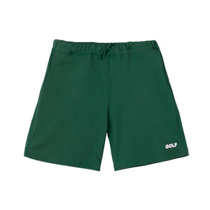 GOLF 3D 2 TONE LOGO SWEATSHORTS by GOLF WANG | Forest Green