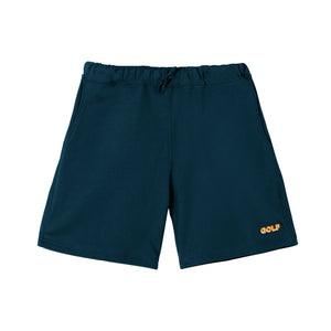 GOLF 3D 2 TONE LOGO SWEATSHORTS by GOLF WANG | Navy