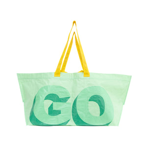 3D LOGO TOTE by GOLF WANG | Green