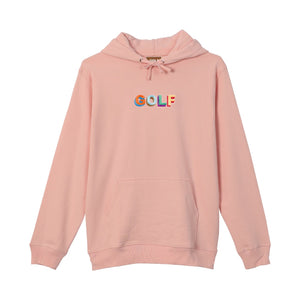 MULTI COLOR 3D GOLF HOODIE by GOLF WANG | Pink