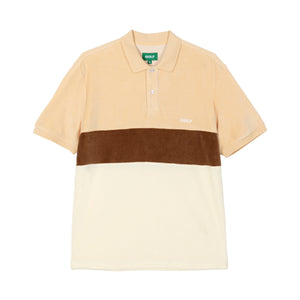COOPER VELOUR POLO by GOLF WANG | Brown
