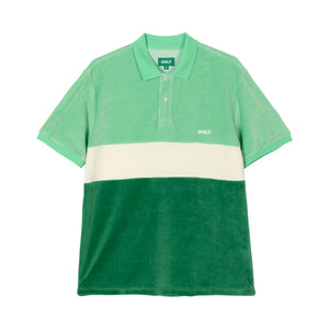 COOPER VELOUR POLO by GOLF WANG | Green