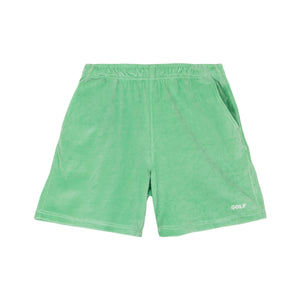 COOPER VELOUR SHORTS by GOLF WANG | Green