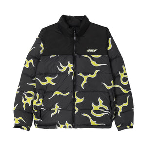 FLAME PUFFY JACKET by GOLF WANG | Black