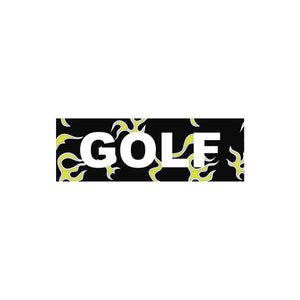FLAME STICKERS by GOLF WANG | BLACK