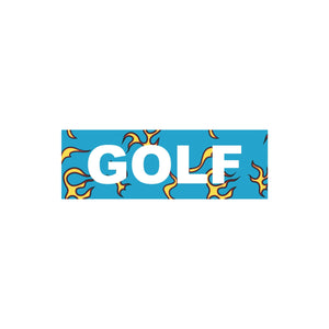 FLAME STICKERS by GOLF WANG | BLUE