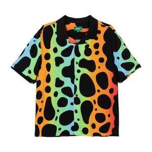 FROG SKIN BUTTON UP by GOLF WANG | Black