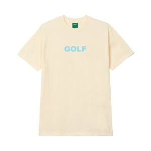 GOLF LOGO TEE by GOLF WANG | Cream