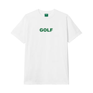 GOLF LOGO TEE by GOLF WANG | White