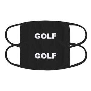 GOLF FACE MASK 2PK by GOLF WANG | Black/Black