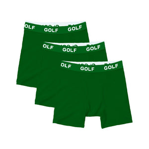 LOGO BOXER BRIEFS 3PK by GOLF WANG | Green