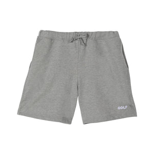 GOLF LOGO SWEAT SHORTS by GOLF WANG | Heather Grey