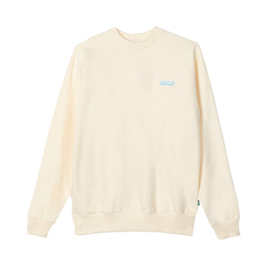 GOLF MINI 3D 2 TONE LOGO CREWNECK by GOLF WANG | Cream