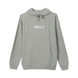 GOLF LOGO HOODIE by GOLF WANG | Heather Grey