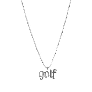 OLDE GOLF NECKLACE BY GOLF WANG | Silver