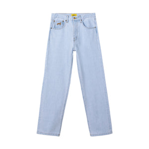 ROPE LOGO DENIM JEANS by GOLF WANG | Light Wash
